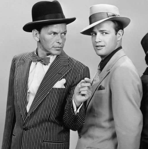 frank-sinatra-with-costar-marlon-brando-in-guys-dolls-1955